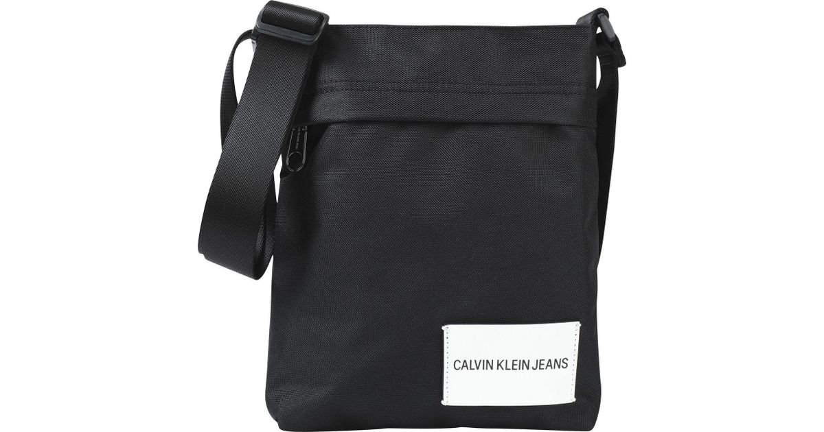 Coloris Pour Bandoulière Noir Calvin Klein Sacs Lyst En Homme a1g0TT