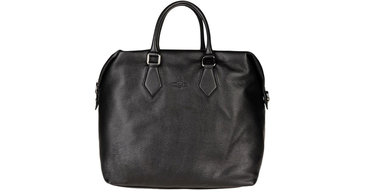 Vivienne Westwood Black Travel Duffel Bag