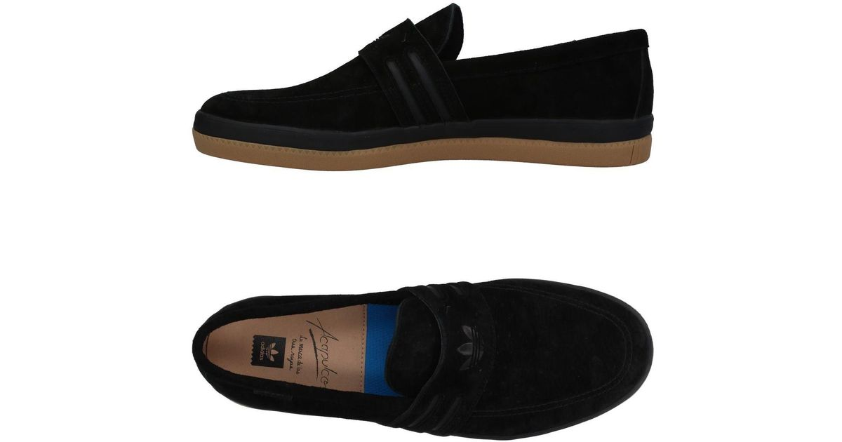 bd09f71a2a45 ... promo code for adidas loafer in black for men lyst bf858 8d74a
