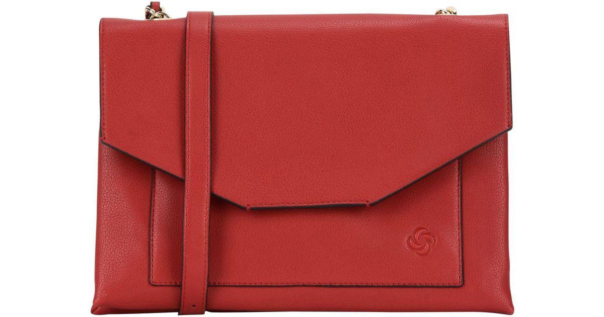 19x10x2 cm Monedero para Mujer, Rojo Tous 995960440 W x H x L