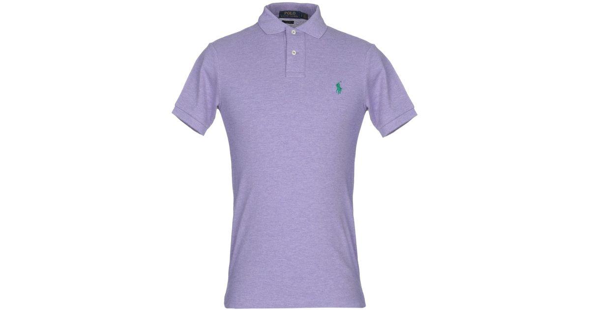 Polo Purple En Homme Pour Coloris Lauren Ralph dxCBoe