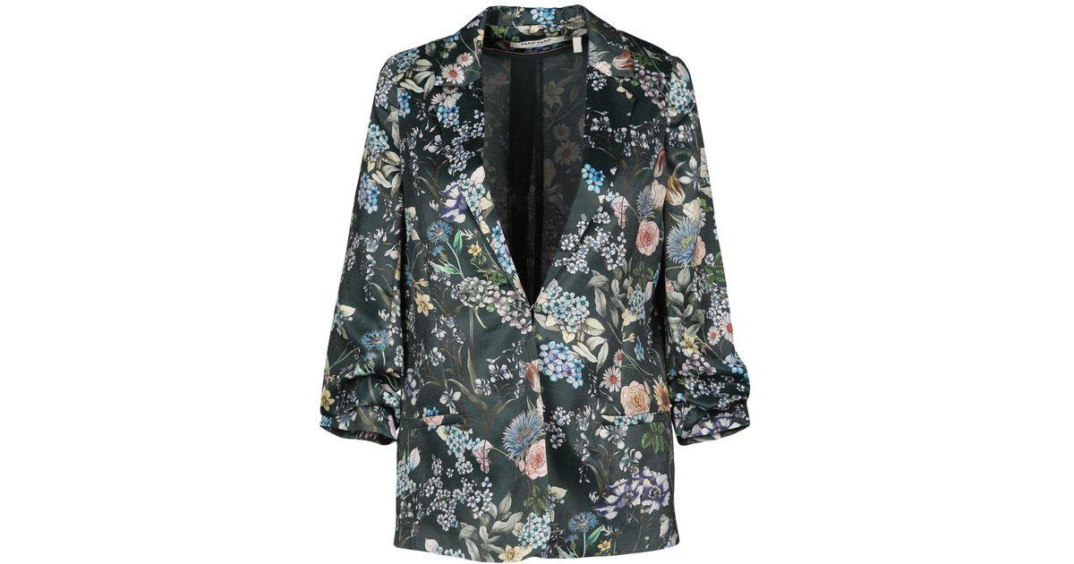 cozy fresh latest discount buy best Naf Naf - Green Blazer - Lyst