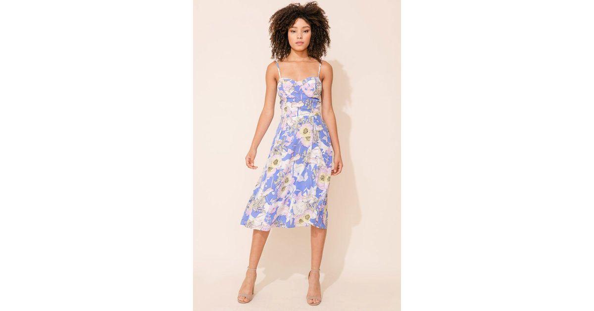 f07436ab430a Yumi Kim - Blue Prima Donna Silk Dress - Lyst