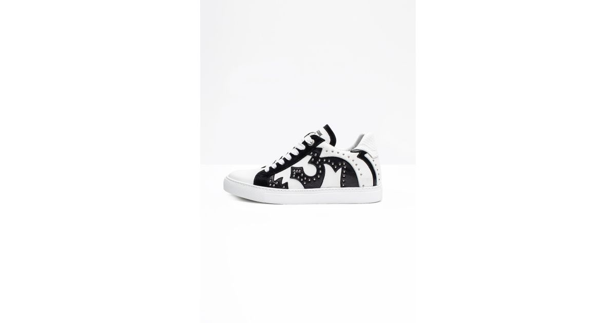 Zadig & Voltaire Women's Zv1747 Nash Studded Leather Sneakers Vtta9Gr