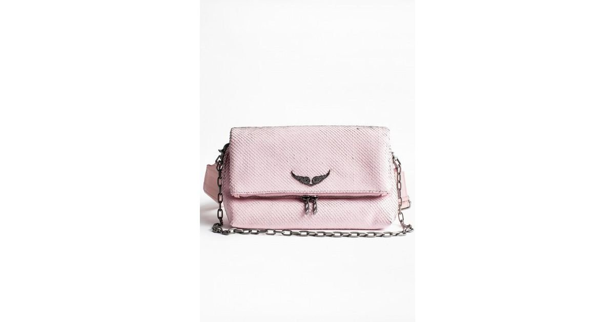 Voltaire Metal En Rose Keith Rocky Zadigamp; Coloris Sac Lyst jL5A34Rq