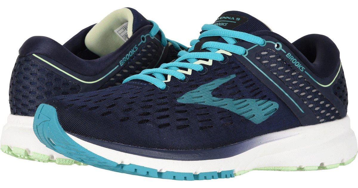 864a6df28da Lyst - Brooks Ravenna 9 (pink plum champagne) Women s Running Shoes in Blue