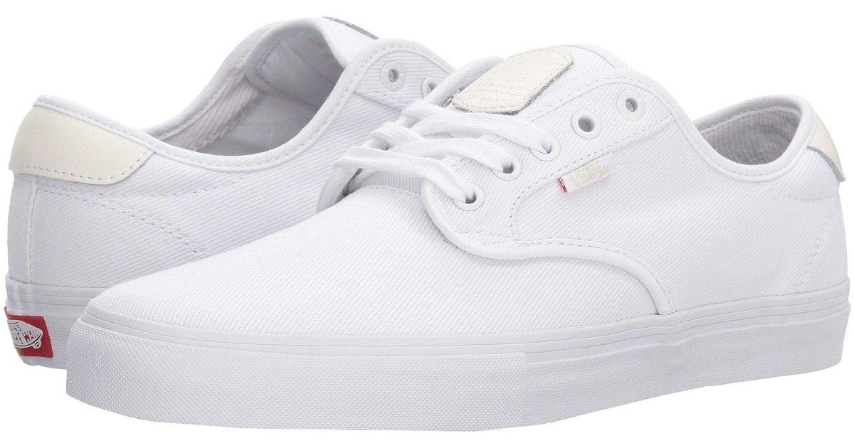 Vans Canvas Chima Ferguson Pro in White