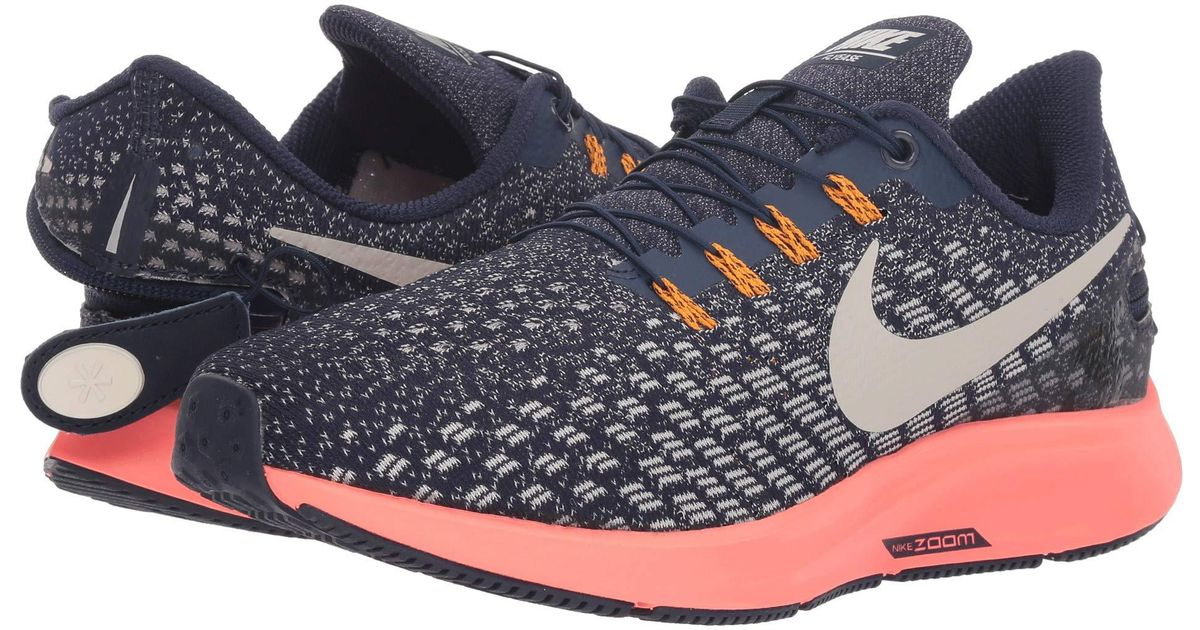 best service d3863 182a1 Nike Air Zoom Pegasus 35 Flyease (blackened Blue/moon Particle) Running  Shoes