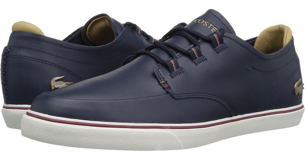 ca908e66b14f Lyst - Lacoste Esparre Deck 118 3 in Blue for Men