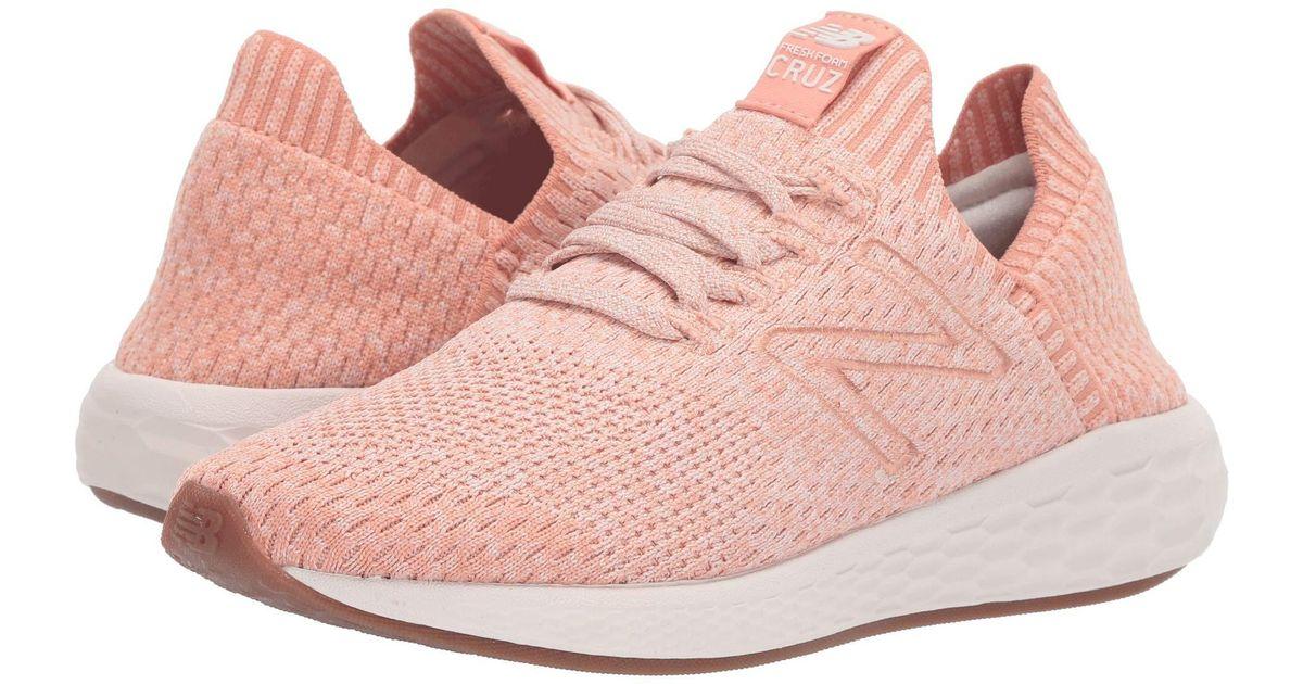 75436653 New Balance Pink Cruz Sock Fit V2 Fresh Foam Running Shoe