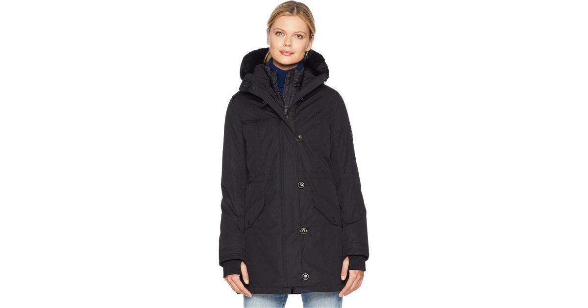 303a96cbcea Ugg Adirondack Parka (black) Women's Coat