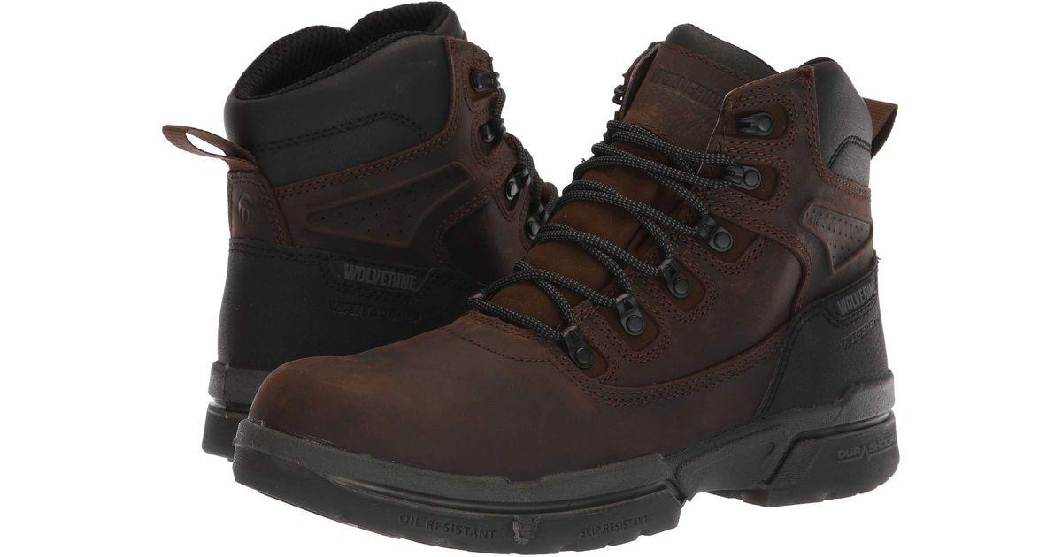 75995ab8601 Wolverine Brown 6 I-90 Durashocks(r) Carbonmax(r) for men