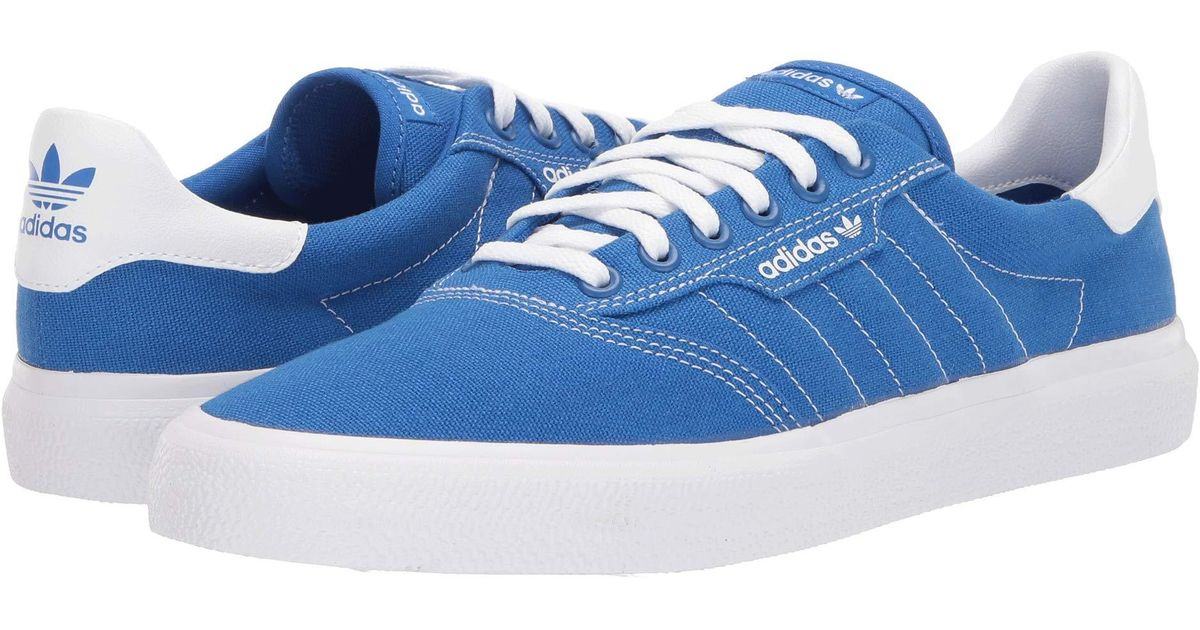 Adidas Originals Blue 3mc (chalk Coral S18core Blackchalk Coral S18) Men's Skate Shoes for men