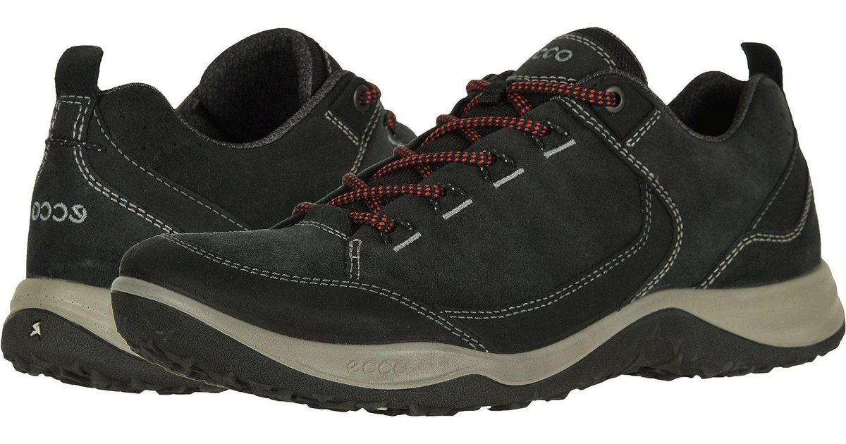 Ecco Espinho Outdoor Low (blackblack) Men's Lace Up Casual Shoes for men