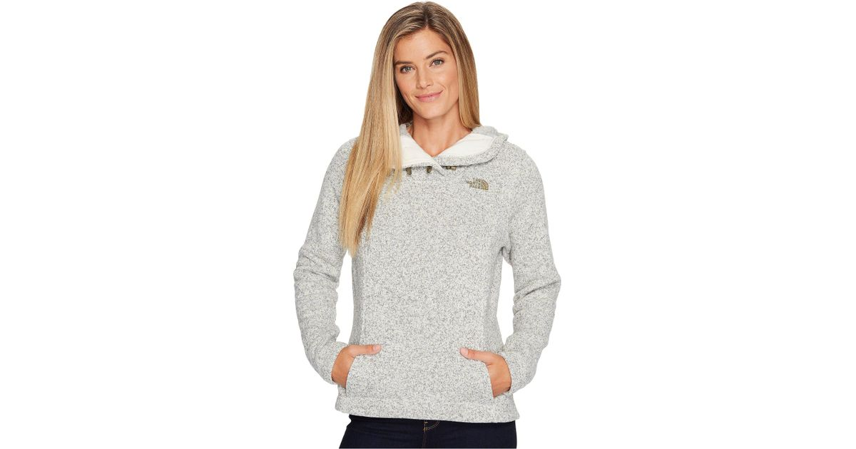 3ccae38a0 The North Face Gray Crescent Hooded Pullover