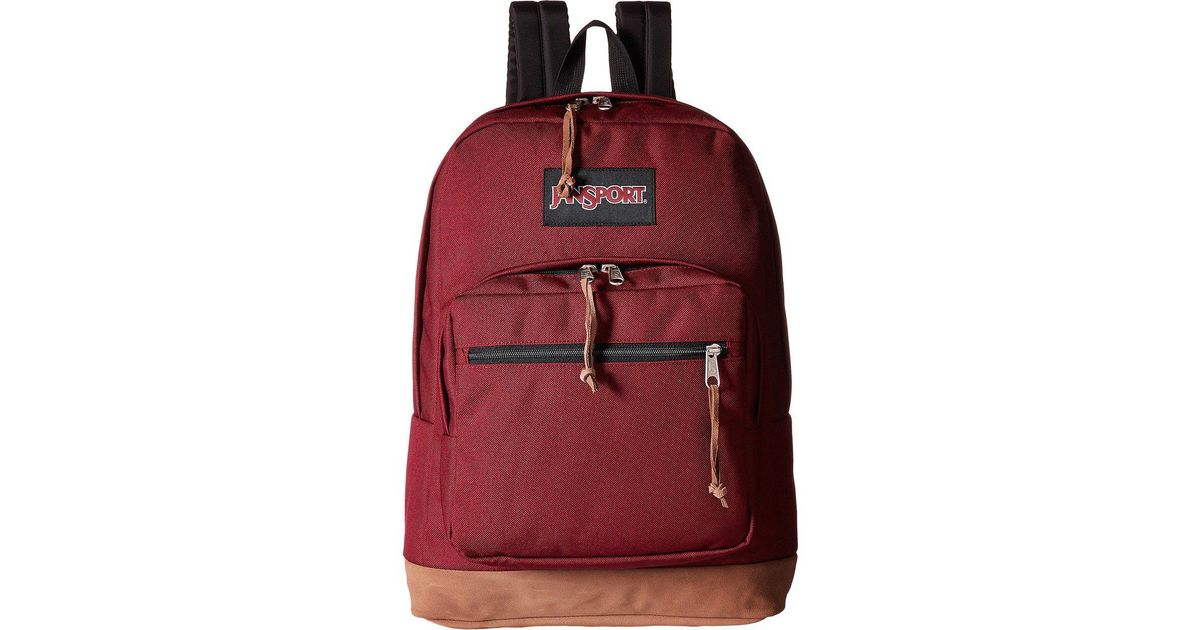 08eee3a6f7 Jansport Right Pack (grey Rabbit) Backpack Bags in Red for Men - Lyst