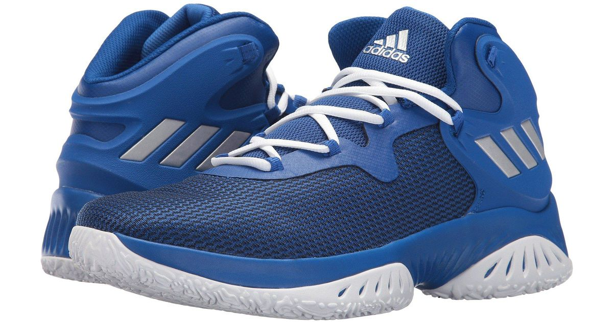 Running Shoe Explosive Bounce For Men Adidas Blue Y76gybf