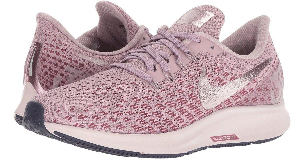 Nike Air Zoom Pegasus 35 (gridirionlight Carbonstorm Pink) Women's Running Shoes