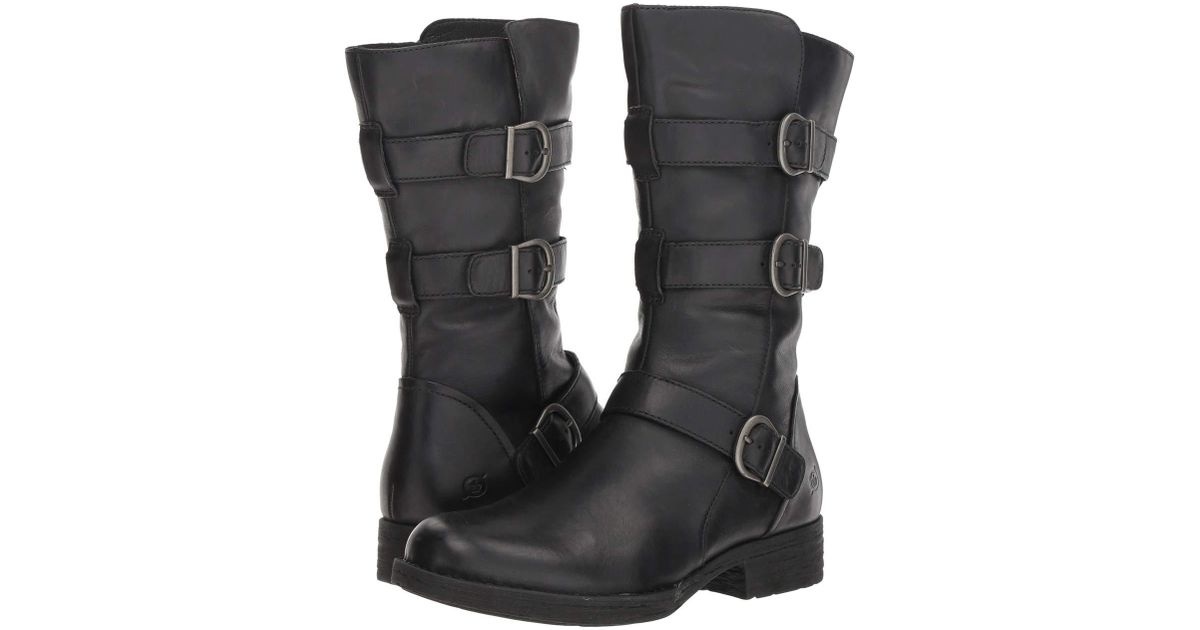 2d091b279e0 Born Ivy (black Full Grain) Dress Pull-on Boots