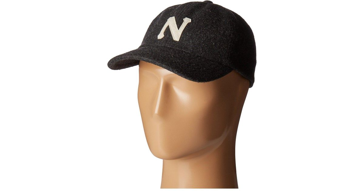 Nixon - Gray Prep Wool Strapback Hat for Men - Lyst 761d0b86670