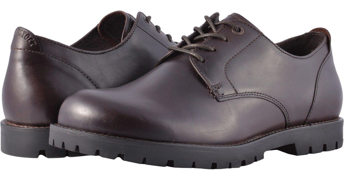 0022e99e8a Birkenstock Gilford (brown Leather) Lace Up Casual Shoes for men