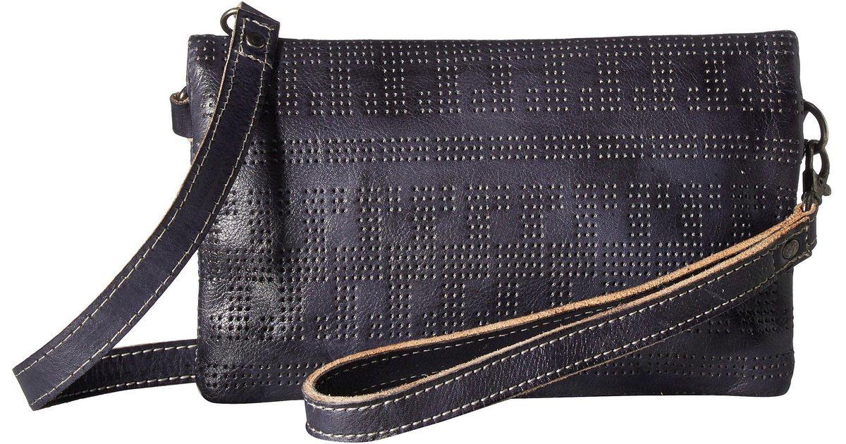 bfcd972a6422 Lyst - Bed Stu Bayshore (mustard Rustic) Handbags in Blue