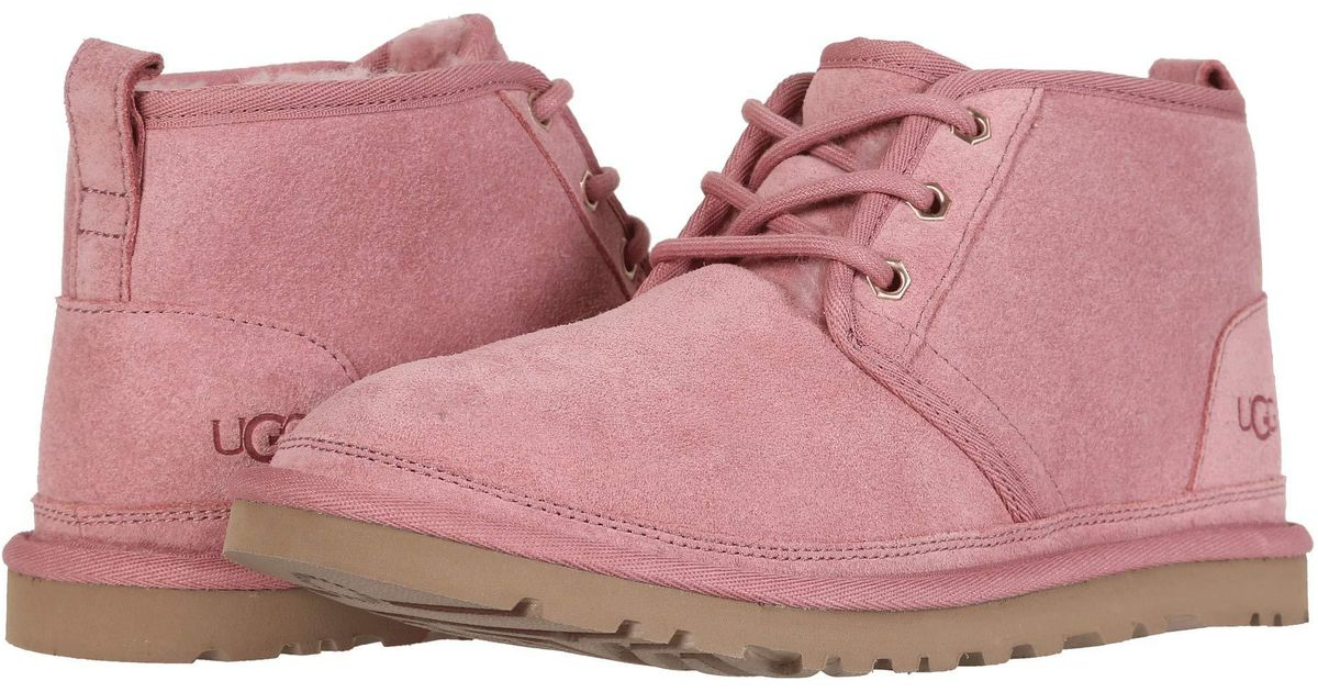 e3ed32d49c9 Ugg Pink Neumel (seal) Women's Lace Up Casual Shoes