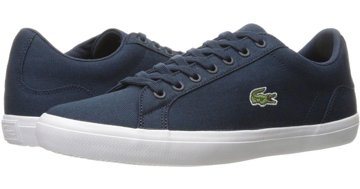 fe3f82bb1 Lyst - Lacoste Lerond Bl 2 (navy) Men s Shoes in Blue for Men