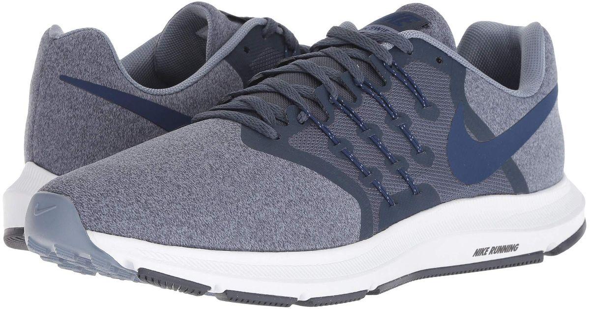 b0c1b3ec9e7166 Lyst - Nike Run Swift (black oil Grey vast Grey) Men s Running Shoes in  Blue for Men