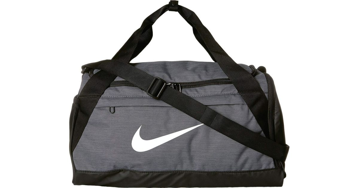 Lyst - Nike Brasilia Small Training Duffel Bag (green Abyss black white) Duffel  Bags in Black for Men 792e088a885e3