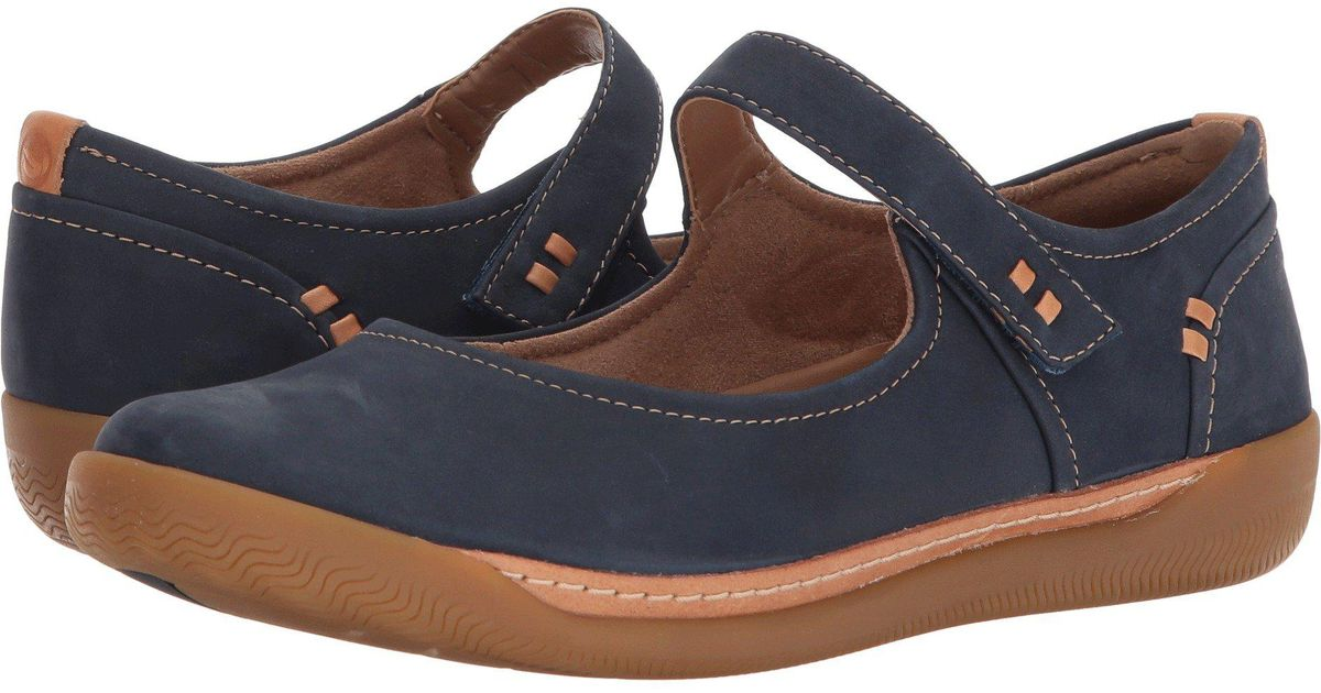 7570c0f0 Clarks Un Haven Strap in Blue - Lyst