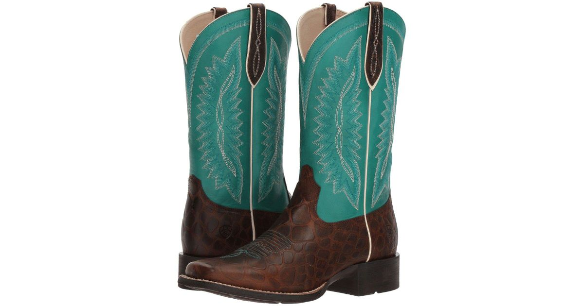 385b9c473dd Ariat Brown Quickdraw Legacy