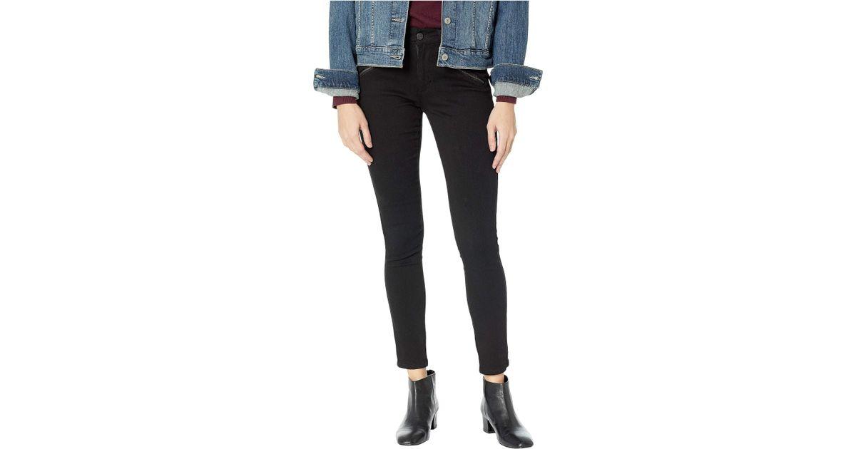 e04618924c3 Lyst - Kenneth Cole Jess Moto Skinny In Black (black) Women s Jeans in Black