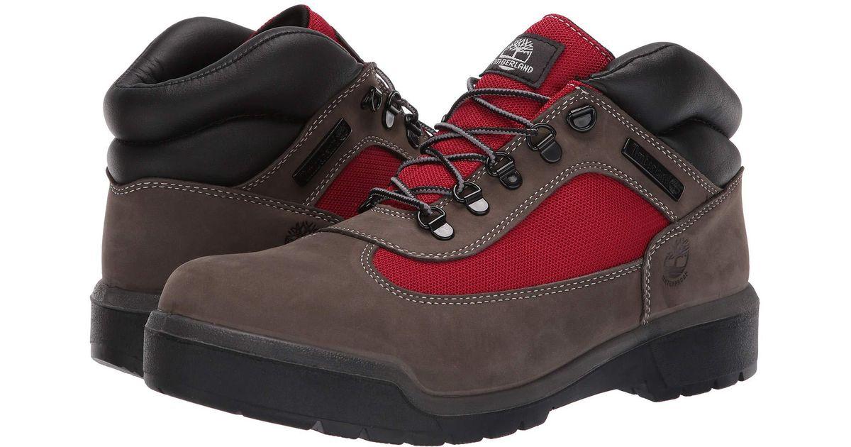 Lace Up Field Waterproofgrey Boot Boots Multicolor Fl Men