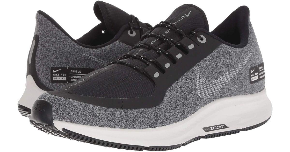 cf697bb51ab0d Lyst - Nike Air Zoom Winflo 5 Run Shield (smokey Mauve metallic Silver oil  Grey) Women s Running Shoes in Metallic