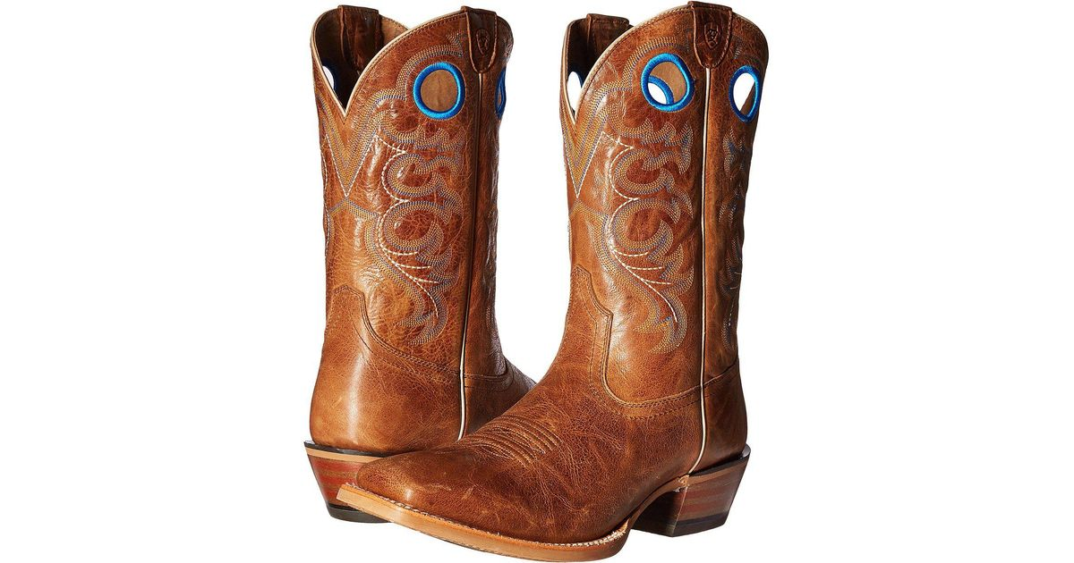 9e5a7eb94e1 Lyst - Ariat Crossfire (bite The Dust Brown) Cowboy Boots in Brown
