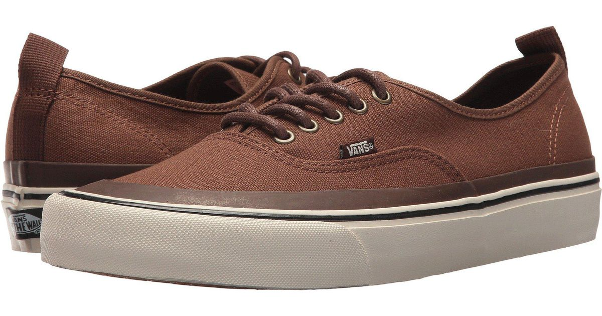 f48e14b8024b Lyst - Vans Authentic Hf ((guard) Emperador turtledove) Shoes in Brown for  Men