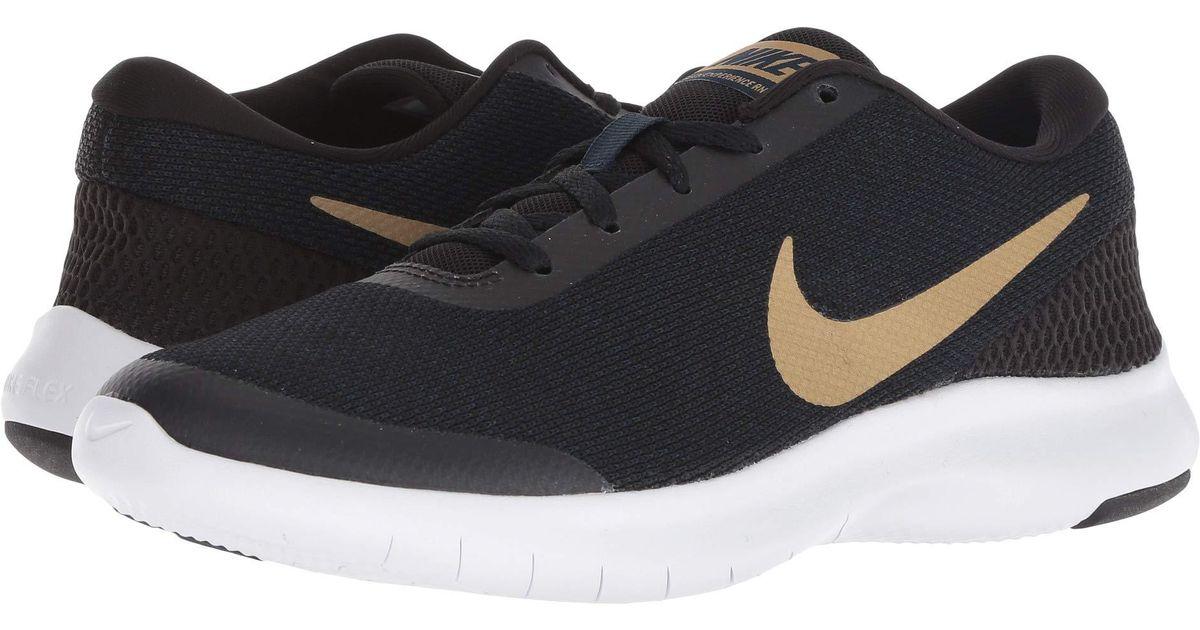e6e027b69d38 Lyst - Nike Flex Experience Rn 7 (black white white) Women s Running Shoes