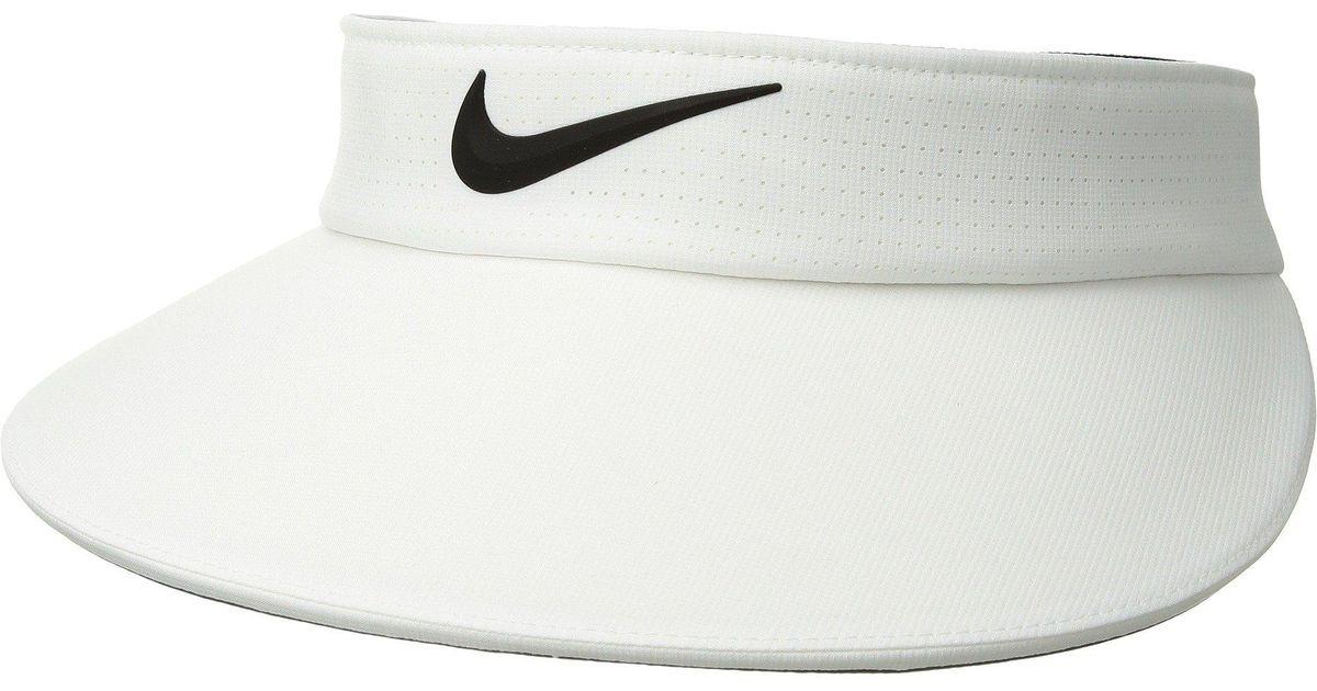 473612b54a147 Lyst - Nike Aerobill Visor Big Bill (blue Void anthracite white) Caps in  Black