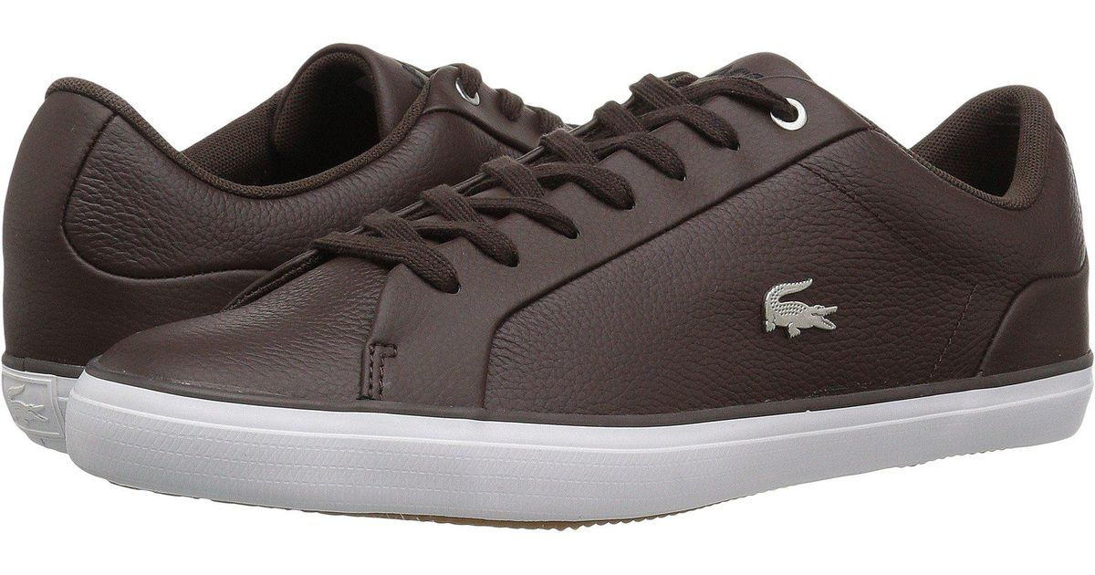 dbd0dd7b8 Lyst - Lacoste Lerond 118 1 U (black grey) Men s Shoes in Brown for Men