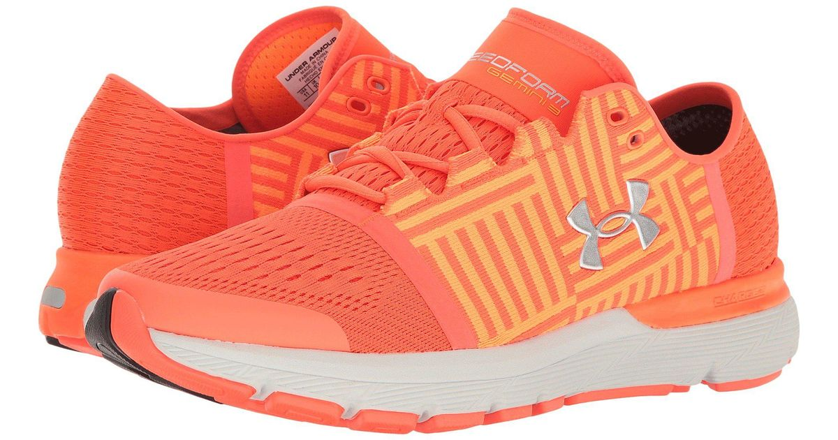 san francisco 9cb6f eb098 Under Armour Orange Speedform Gemini 3 Running Shoe for men