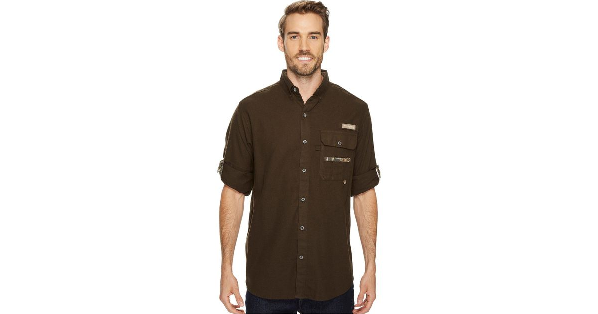 f01d2bf0b4577 Lyst - Columbia Sharptail Flannel in Brown for Men
