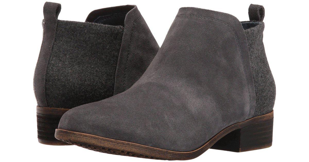 767aa8fa4d0 TOMS Gray Deia Fashion Boot