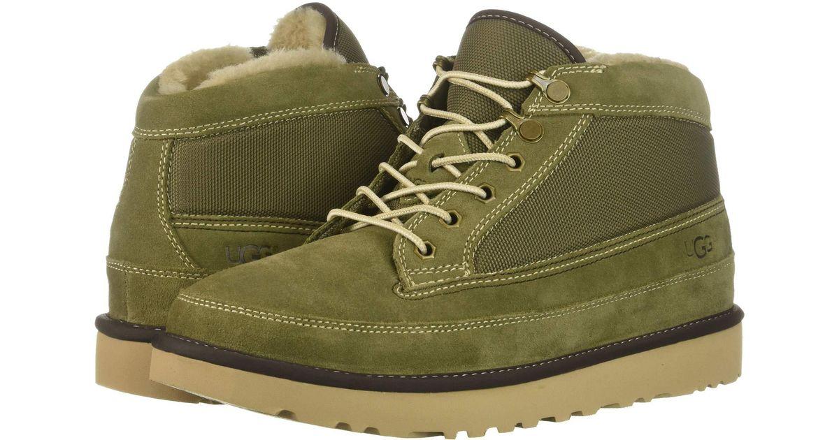 2424937ae5d Ugg Highland Field Boot (moss Green) Men's Boots for men