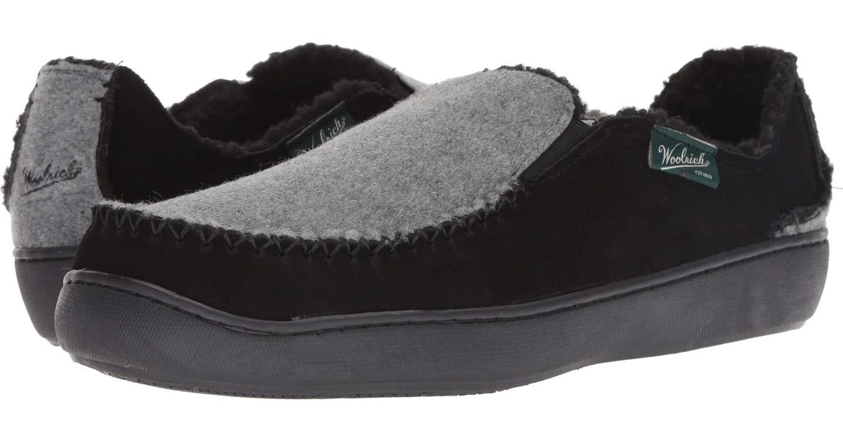 9e12e745 Woolrich Black Boardwalk Slipper for men