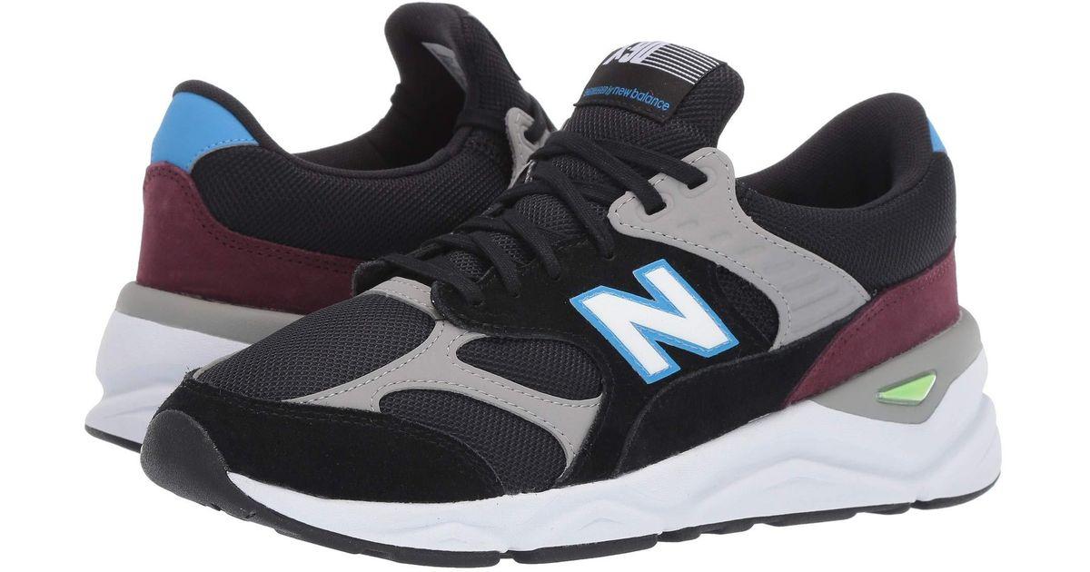 b2a2e0968b51e New Balance X90rv1-usa (black/light Cobalt) Shoes in Black for Men - Save  25% - Lyst