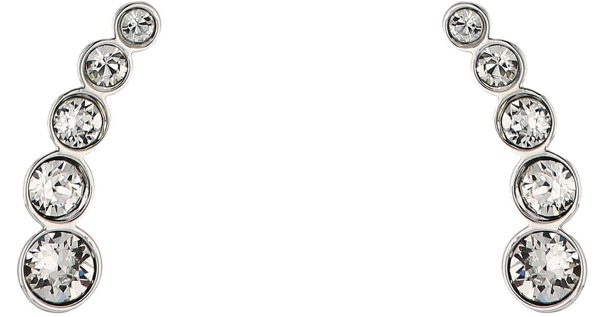 ec7b3c411 Swarovski Harley Pierced Earrings - Lyst