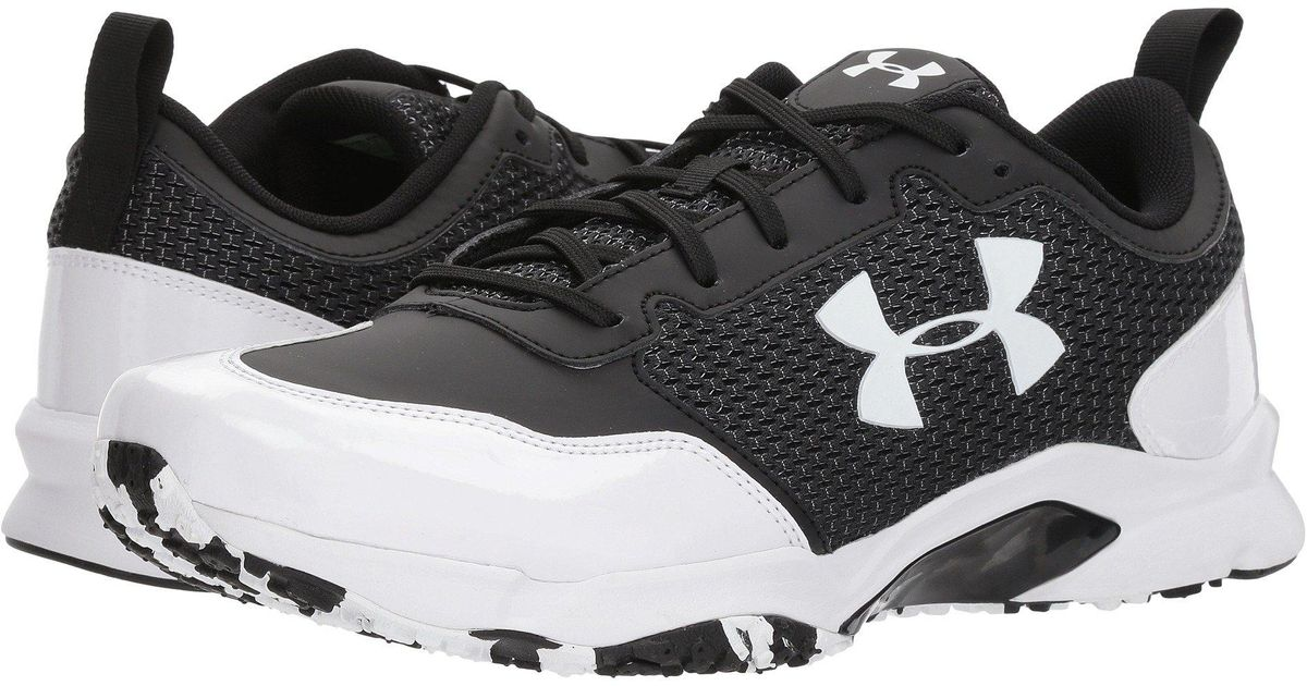 best place arrives casual shoes Under Armour Black Ua Ultimate Turf Trainer for men
