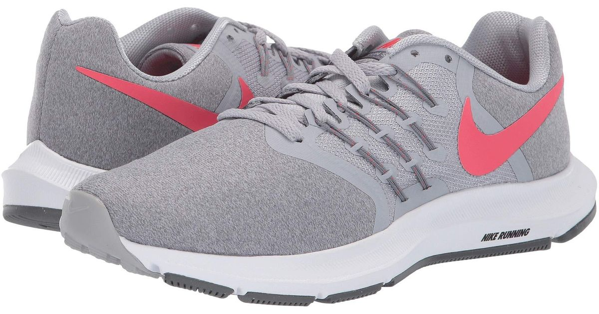eb05b160a82 Nike Gray Run Swift (bordeaux/summit White/burgundy Ash) Women's Running  Shoes
