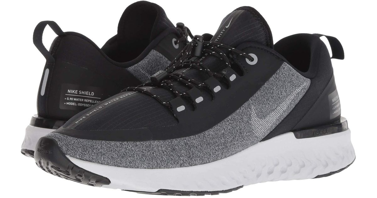 95f384889b6f Lyst - Nike Odyssey React Shield (black anthracite anthracite dark Grey)  Men s Running Shoes in Gray for Men